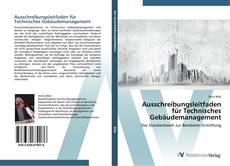 Portada del libro de Ausschreibungsleitfaden für Technisches Gebäudemanagement