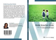 Capa do livro de Kinder brauchen Kinder