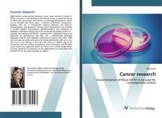 Cancer research的封面