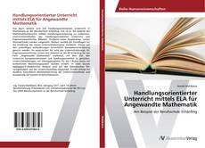 Capa do livro de Handlungsorientierter Unterricht mittels ELA für Angewandte Mathematik