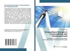 Capa do livro de Erneuerbare Energie in Unternehmen der Hochsteiermark