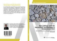 Copertina di Das Schloss und die Herrschaft Senftenegg in Niederösterreich