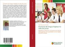 Capa do livro de O ensino de língua Inglesa no vale do Juruá