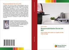 Capa do livro de Responsabilidade Social em IES