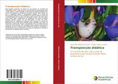 Transposição didática kitap kapağı