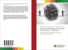 Capa do livro de Direito e Psicologia em Gestão de Conflitos - Interface.