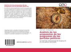 Portada del libro de Análisis de las propuestas de los programas de los partidos políticos