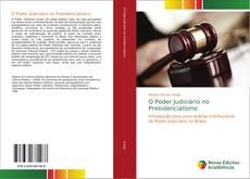 Capa do livro de O Poder Judiciário no Presidencialismo