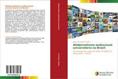 Обложка Webjornalismo audiovisual universitário no Brasil