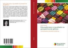 Borítókép a  Educação para a igualdade na perspectiva de gênero - hoz
