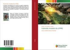 Fazenda modelo da UFMG kitap kapağı