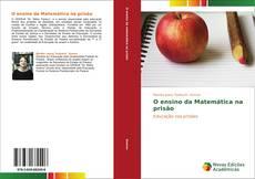 Capa do livro de O ensino da Matemática na prisão