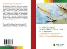 Capa do livro de Cadastro territorial multifinalitário e função social da propriedade