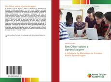 Capa do livro de Um Olhar sobre a Aprendizagem