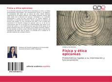 Capa do livro de Física y ética epicúreas