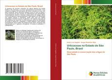 Capa do livro de Urticaceae no Estado de São Paulo, Brasil