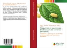 Portada del libro de Fitoquímica de espécies de Erythroxylum do semiárido paraibano