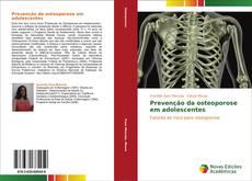 Buchcover von Prevenção da osteoporose em adolescentes
