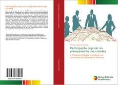 Copertina di Participação popular no planejamento das cidades
