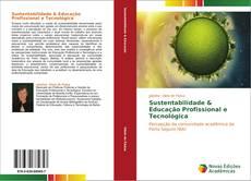 Sustentabilidade & Educação Profissional e Tecnológica的封面
