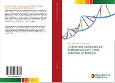 Portada del libro de Análise dos conteúdos de Biotecnologia em livros didáticos de Biologia
