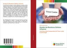 Capa do livro de Gestão de Resíduos Sólidos Urbanos