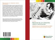 Capa do livro de Memorial de um intérprete, nobre e sentimental