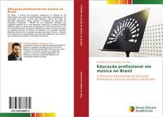 Capa do livro de Educação profissional em música no Brasil