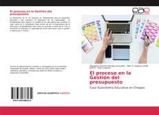 Buchcover von El proceso en la Gestión del presupuesto