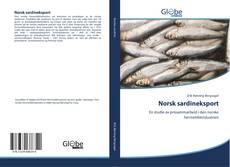 Capa do livro de Norsk sardineksport