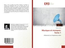 Bookcover of Musique et marques: Tome 1