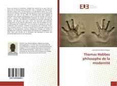 Copertina di Thomas Hobbes philosophe de la modernité
