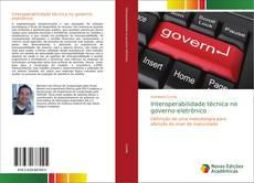 Capa do livro de Interoperabilidade técnica no governo eletrônico