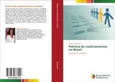 Capa do livro de Política de medicamentos no Brasil