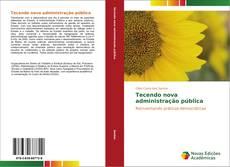 Tecendo nova administração pública kitap kapağı