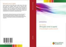 Bookcover of Afinação coral à capela