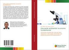 Capa do livro de Educação ambiental no ensino fundamental