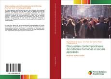 Обложка Discussões contemporâneas de ciências humanas e sociais aplicadas