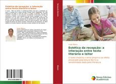 Capa do livro de Estética da recepção: a interação entre texto literário e leitor