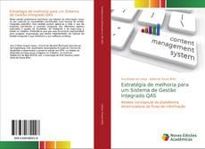 Capa do livro de Estratégia de melhoria para um Sistema de Gestão Integrado QAS