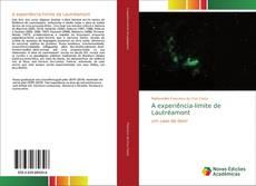 Copertina di A experiência-limite de Lautréamont