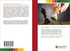 Capa do livro de Simulações no processo ensino-aprendizagem de Química: estudo de caso