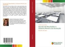 Capa do livro de Acordo de Resultados e Sistema Mineiro de Avaliação