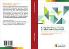 Buchcover von Competências gerenciais na administração pública