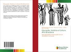 Couverture de Educação, História e Cultura Afro-Brasileira