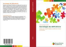 Sociologia da deficiência kitap kapağı