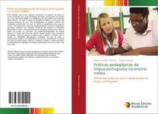 Capa do livro de Práticas pedagógicas de língua portuguesa no ensino médio