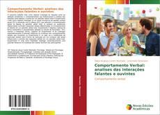 Couverture de Comportamento Verbal: analises das interações falantes e ouvintes