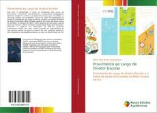 Bookcover of Provimento ao cargo de Diretor Escolar