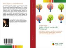 Capa do livro de Política Pública e Gestão Ambiental